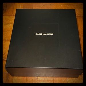 Saint Laurent Other - Saint Laurent collectible shoe box